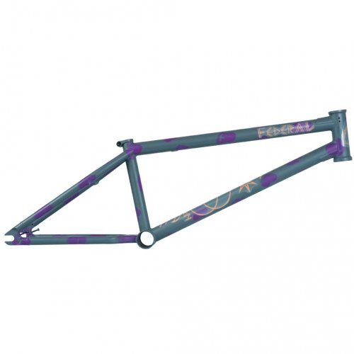 Federal PERRIN ICS2 Frame Matt Grey/Purple