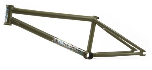 Fiend MORROW V3 Frame Flat Fatigue Green