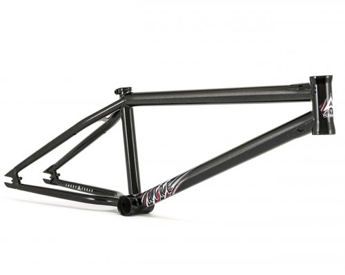 Flybikes AIRE 2 Frame Gloss Black Gold Sparkle