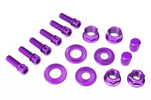 Salt Purple Nut and Bolt set