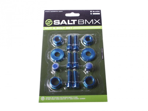 Salt NUT/ BOLT Set Blue