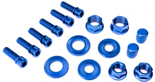 Salt NUT/BOLT Set Blue
