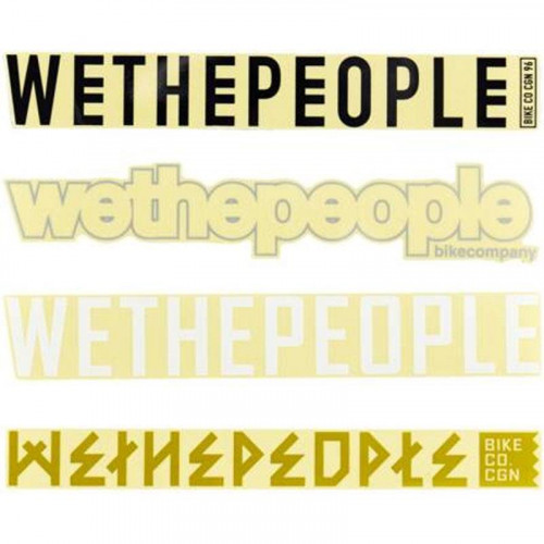 Wethepeople 4BIG Stickers Pack