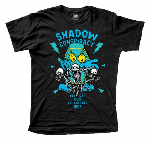 Shadow CAN´T HIDE T-Shirt Black