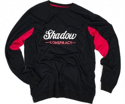 Shadow CONTENDER L/S Jersey Black/Red