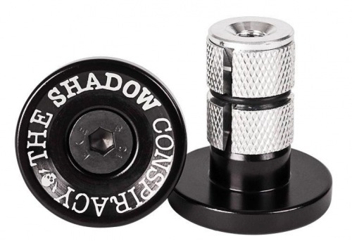 Shadow Deadbolt Bar Ends Black