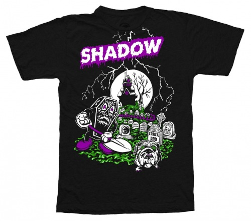 Shadow GRAVEDIGGER T-Shirt Black