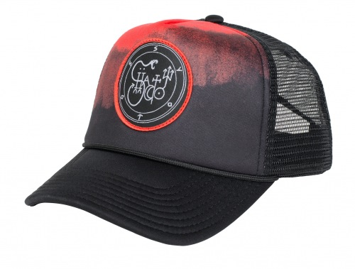 Shadow HEARG Trucker Hat Black/Red