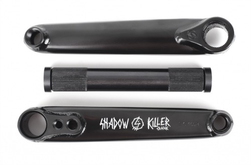 Shadow KILLER Cranks Black