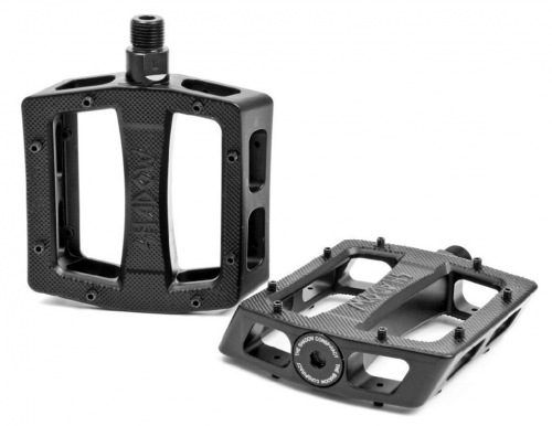 Shadow RAVAGER ALU Pedals Black