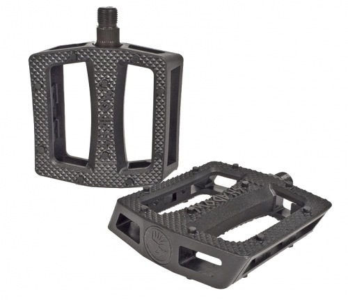 Shadow RAVAGER Plastic Pedals Black