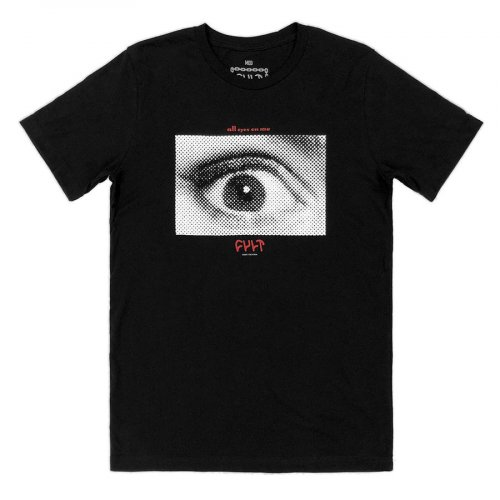 Cult ALL EYES T-Shirt Black