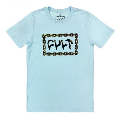 Cult FOR LIFE T-Shirt Light Blue