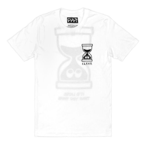 Cult IT´S LATER THAN YOU THINK T-shirt White