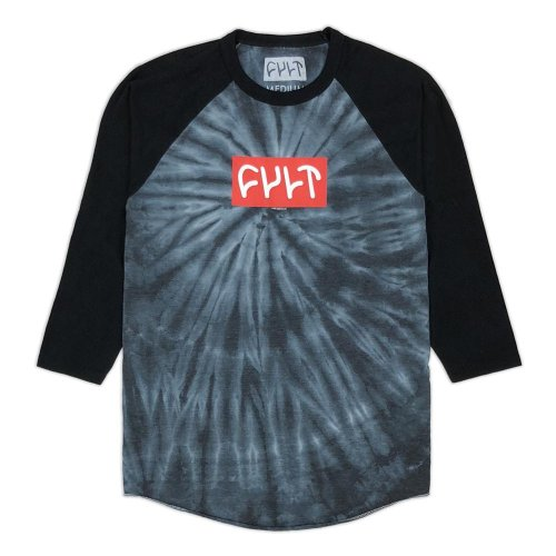Triko Cult LOGO 18 3/4 Grey Tie Dye/ Black