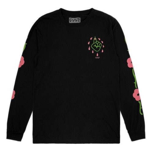 Cult THORNPRICK L/S T-Shirt Black