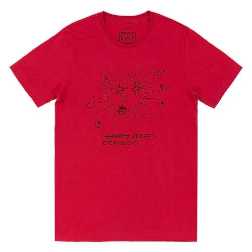 Cult UR PERFECT T-Shirt Red