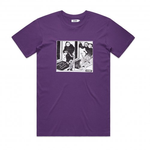 Doomed DOOMED HOUSE T-Shirt Purple