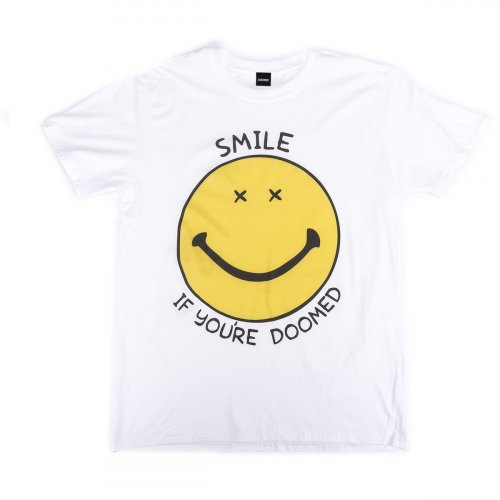 Doomed SMILE T-Shirt White