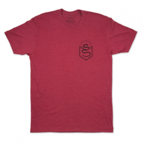 Mutiny LABOR II T-Shirt Burgundy
