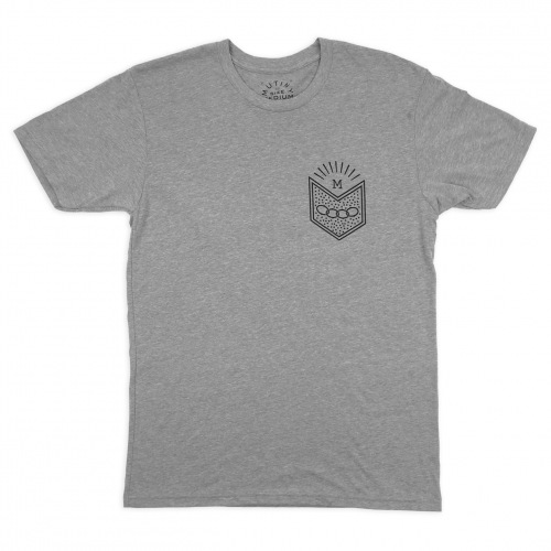 Mutiny NEW MASTER T-Shirt Dark Heather Grey