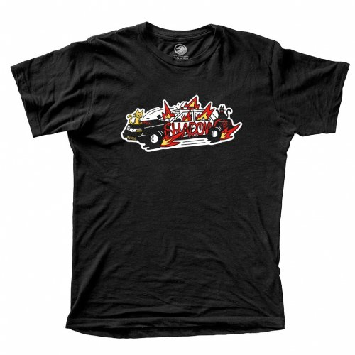 Shadow CAT RIOT T-Shirt Black