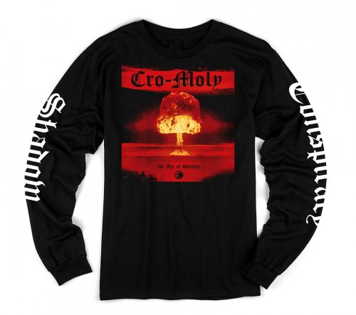 Shadow CRO-MOLY L/S T-Shirt Black