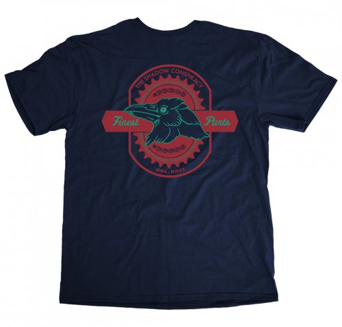 Shadow FINEST T-Shirt Navy