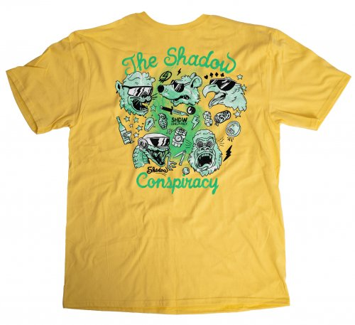 Shadow SHADES T-Shirt Yellow