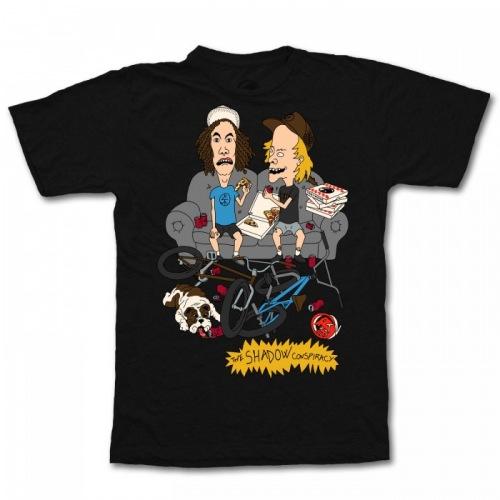 Shadow Treymone T Shirt Black