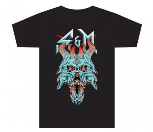S&M DEMON T.Shirt Black