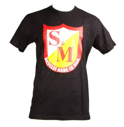 S&M OG SHIELD T-Shirt Black