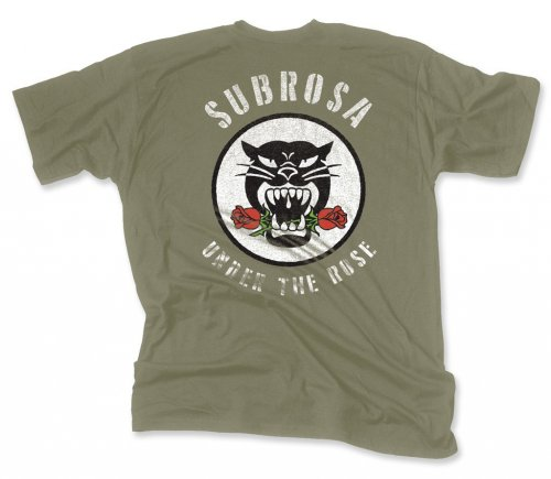 Subrosa BATTLE CAT T-Shirt Army