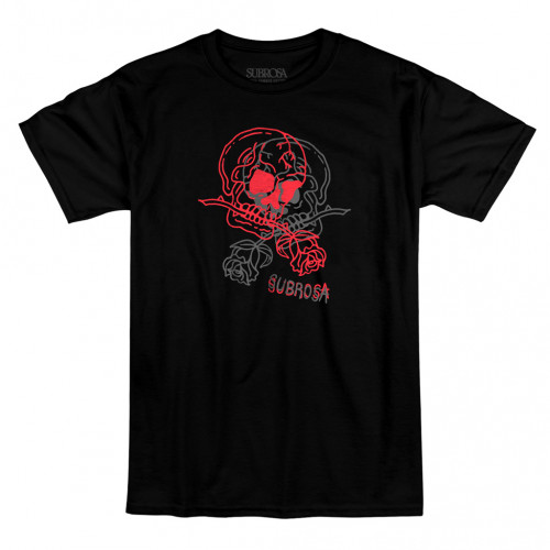Subrosa DOUBLE VISION T-Shirt Black