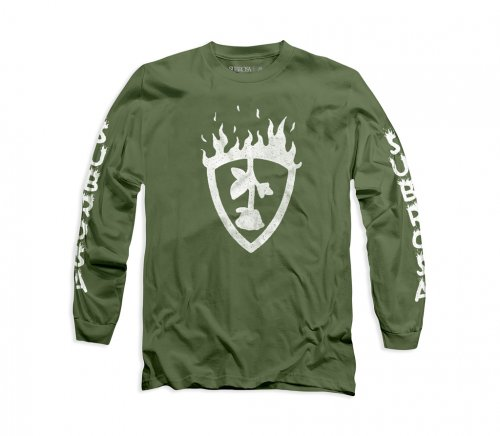 Subrosa FUEGO L/S T-shirt Military Green