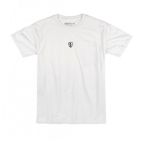 Subrosa SHIELD Embroidered T-Shirt White