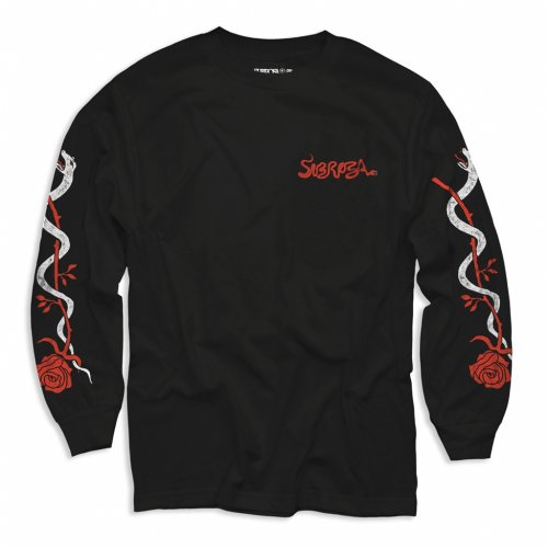 Subrosa SLITHER L/S T-Shirt Black