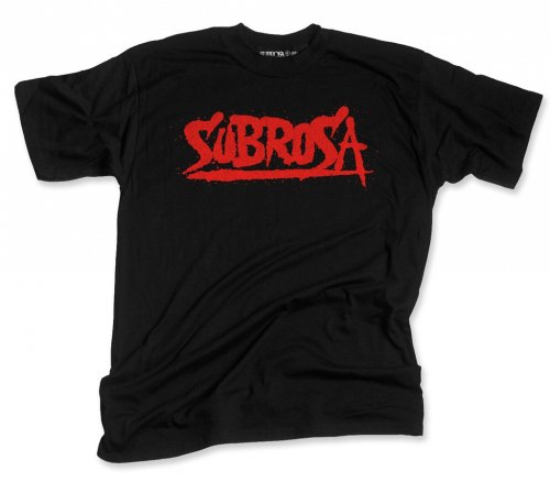 Subrosa SPLATTERED T-Shirt Black