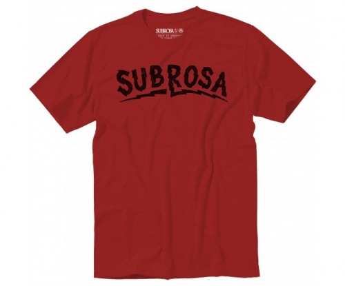 Subrosa VOLTAGE T-Shirt Red