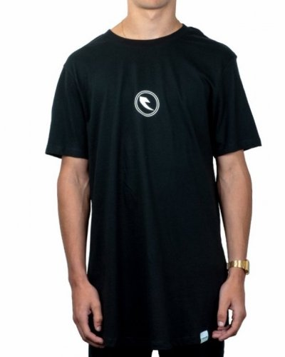 Tall Order CIRCLE LOGO T-shirt Black