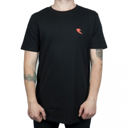 Tall Order RED SQUARE T-Shirt Black