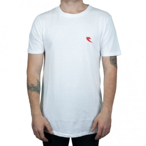 Tall Order RED SQUARE T-Shirt White