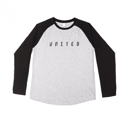 United BASEBALL Longsleeve T-Shirt  Black