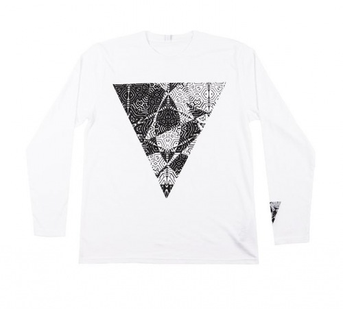 United HOOPER Longsleeve T-Shirt White