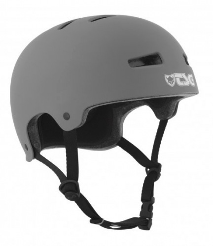 TSG EVOLUTION Solid Color Helmet Matt Coal