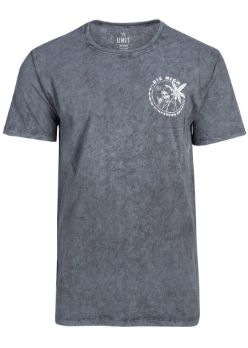Unit DIE HIGH T-Shirt Grey