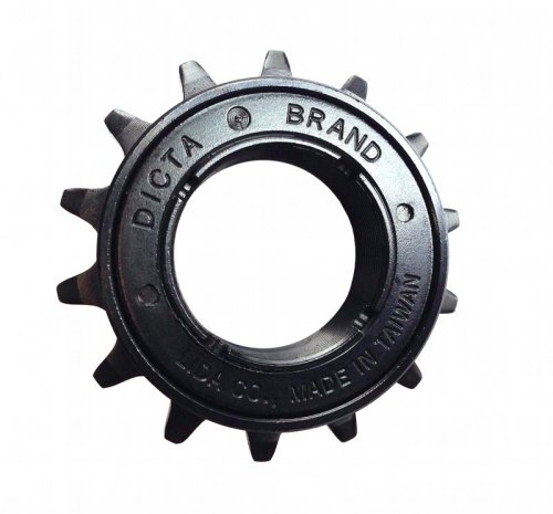 "Dicta Freewheel 14T 1/8"" Black"