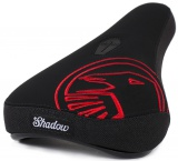 Shadow CROW Mid Pivotal Seat Black/Red