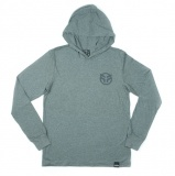 Federal LOGO Hooded Shirt grey