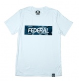 Federal BLUE CAMO T-shirt White